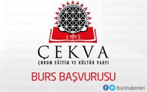 Çorum Eğitim ve Kültür Vakfı (ÇEKVA) Bursu