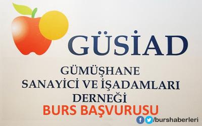 Gumushane-GUSIAD-Bursu