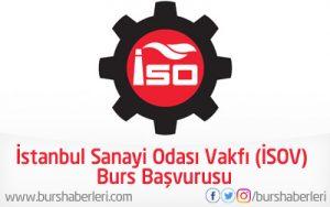 İstanbul Sanayi Odası Vakfı (İSOV) Burs Başvurusu