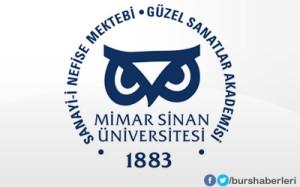 Mimar Sinan Güzel Sanatlar Üniversitesi Bursları