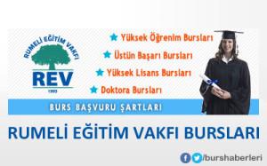 Rumeli Eğitim Vakfı (REV) Bursları
