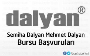 Semiha Dalyan-Mehmet Dalyan Bursu