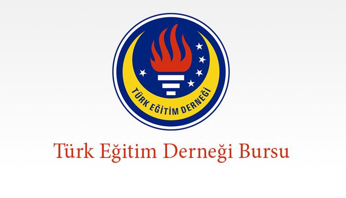 Türk Eğitim Derneği Bursu