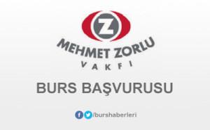 Zorlu Holding (Mehmet Zorlu Vakfı) Bursu